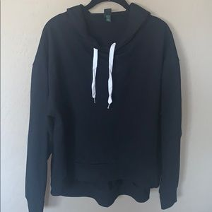 wild fable — black hoodie (kinda oversized)